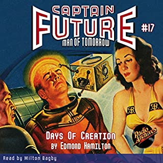 Captain Future #17 cover art