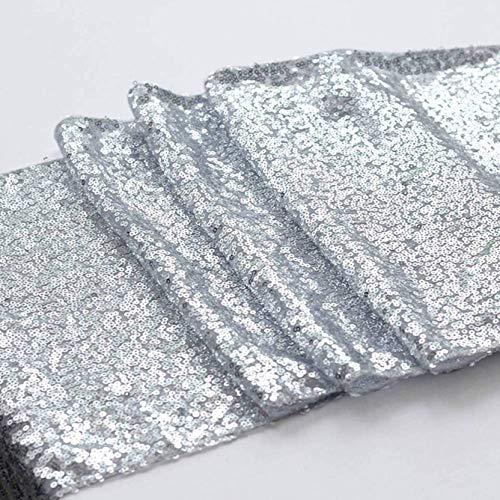 aixingwuzi betrouwbare 30X250Cm Pailletten Tafelloper Glitter Tafelkleed Sparkly Wietpartij Thuis Banket Decoratie benodigdheden