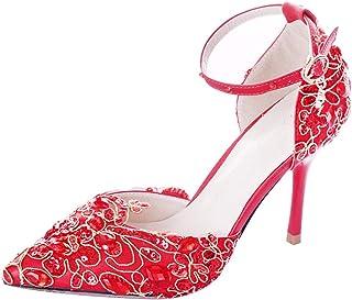 c27e9b8c3 GTVERNH Chaussures Femme Les Anciens Épouse De Chaussures De Rouge ...