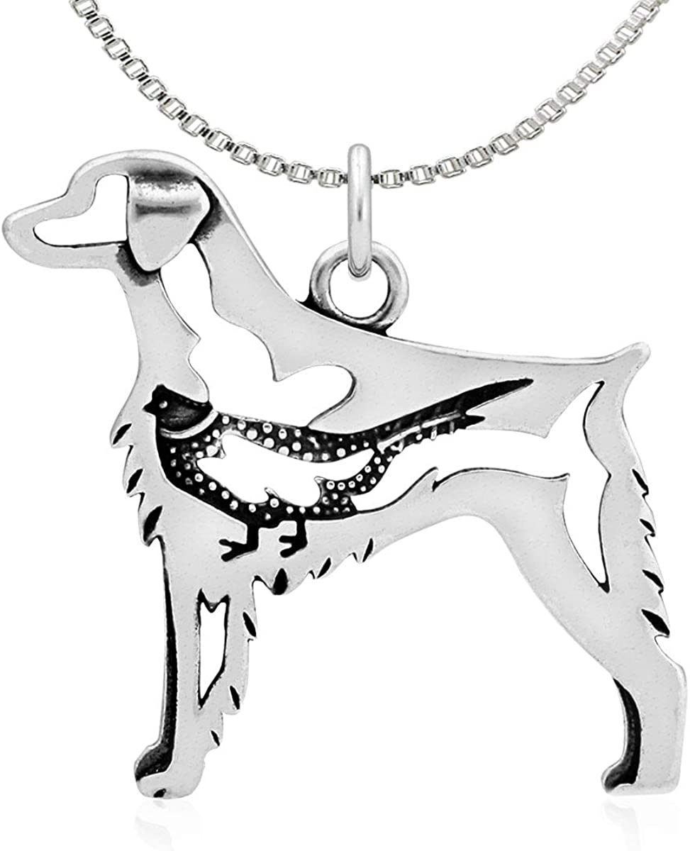 Body Sterling Silver Brittany Pendant