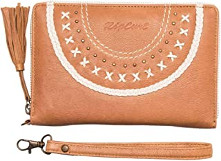 Rip Curl Women's Boho Lux Rfid Os Leather Wallet Brown