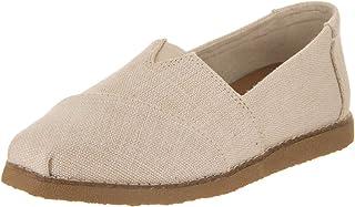 Toms Women's Alpargata Crepe Natural Heritage Casual Shoe 6 Women US