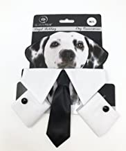 Silver Paw PGPA5166 Royal Wedding Dog Costumes, Medium/Large, Bow Tie & Cuffs