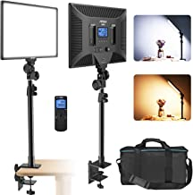 IVISII LED Video Light with C-Clamp Stand