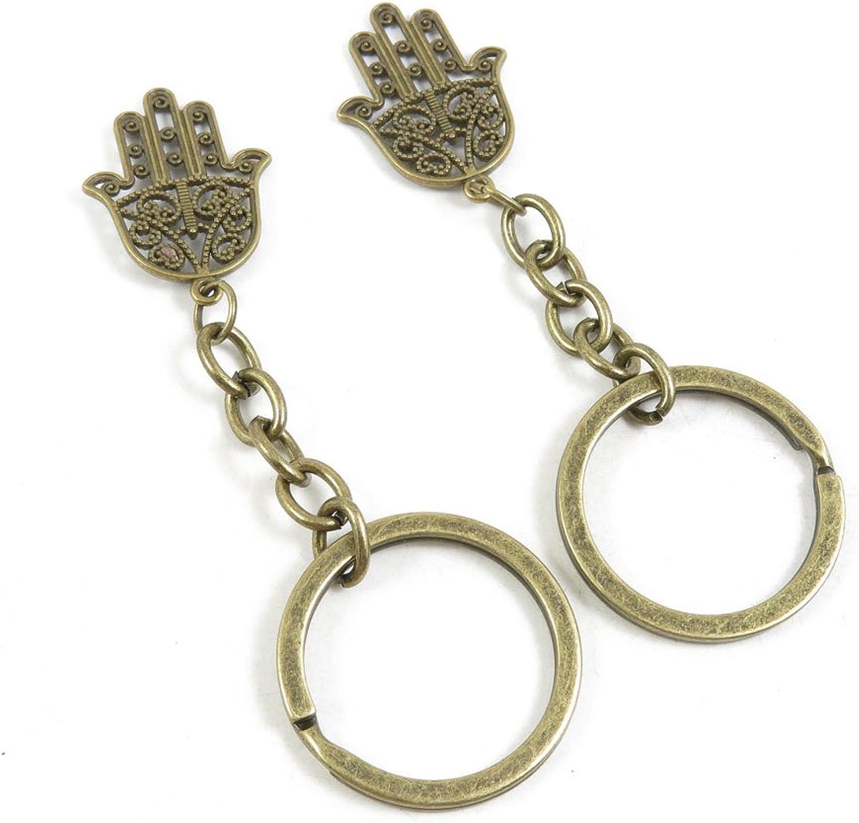 210 Pieces Fashion Jewelry Keyring Keychain Door Car Key Tag Ring Chain Supplier Supply Wholesale Bulk Lots S3ES5 Buddha Palm