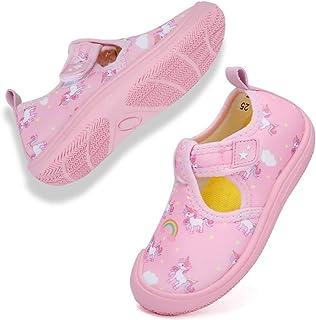 Rokiemen Chaussures Aquatique Enfant Filles Garçon Séchage Rapide Antidérapant pour Plage Piscine Surf Plongée Sport Aquat...