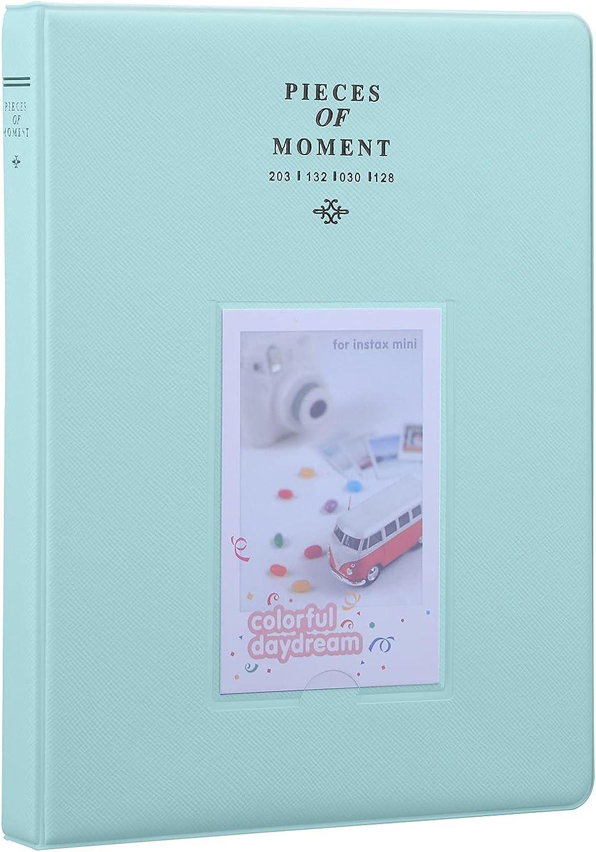 Antner 128 Pockets Mini Photo Instax 7s Popular brand Album for Jacksonville Mall Fujifilm
