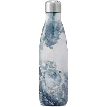 S'well Stainless Steel Water Bottle - 17 Fl Oz - Blue Granite - Triple-Layered Vacuum-Insulated Containers Keeps Drinks Cold for 41 Hours and Hot for 18 - with No Condensation - BPA Free Water Bottle