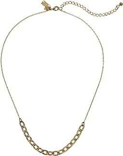 Chain Reaction Link Mini Necklace