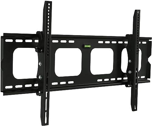 Mount-It! Tilting TV Wall Mount Bracket | Low Profile TV Wall Mount for 43-80 Inch Flat Screen | Slim TV Wall Mount w...