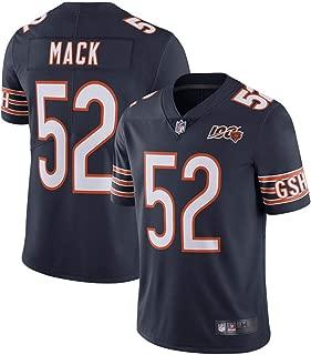 Men's Khalil Mack #52 Chicago Bears 100th Season Limited Navy Jersey