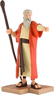 Superbook Collectibles Moses Toy Character Figurine - Christian DVD Series Toy