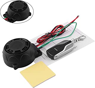 125db Motorcycle General Purpose Burglar Alarm Scooter Alarm with Engine Start Remote Control Key for Motorcycle Anti-Theft