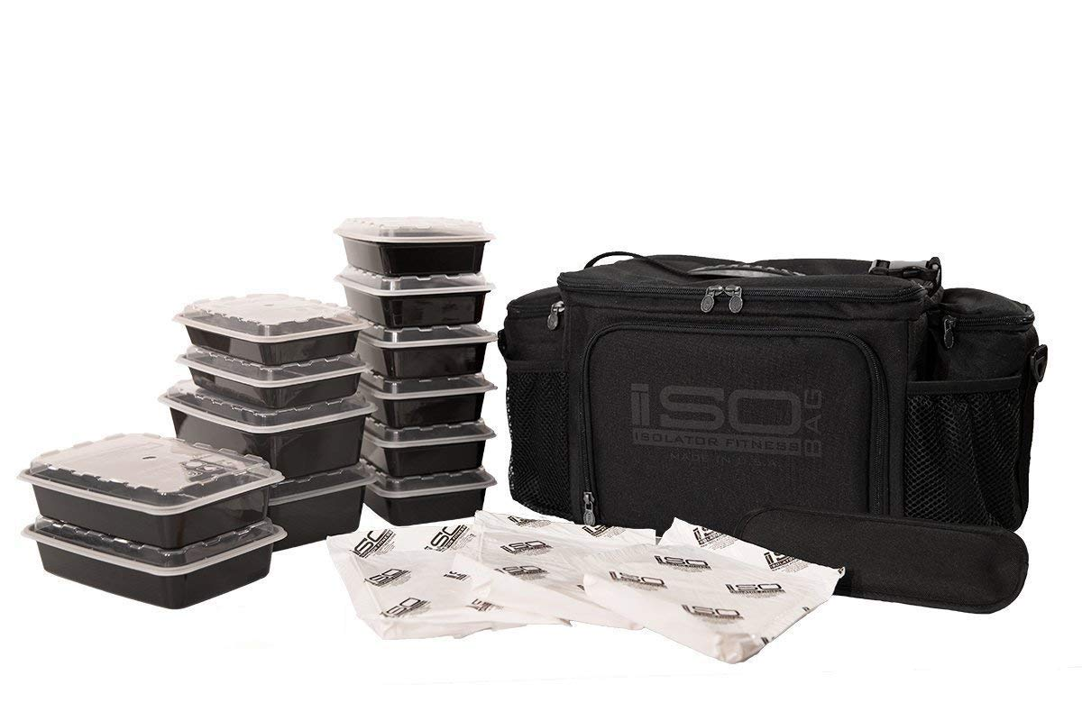 Meal Prep Bag Kit Containers