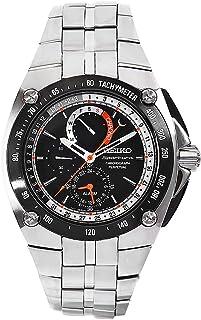 Seiko - Reloj Analógico para Hombre de Cuarzo con Correa en Acero Inoxidable BEB046