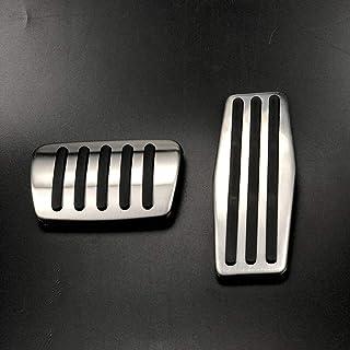 NUIOsdz ステンレス鋼アクセラレータブレーキペダルケース車の付属品、ビュイックヒデオラクロスMK2リーガルエンビジョンアンコールベラノ