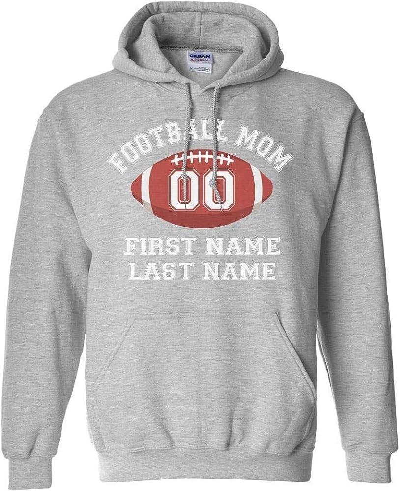 TeesAndTankYou 年末年始大決算 Customized Football Mom Perso Name 期間限定送料無料 Number Players