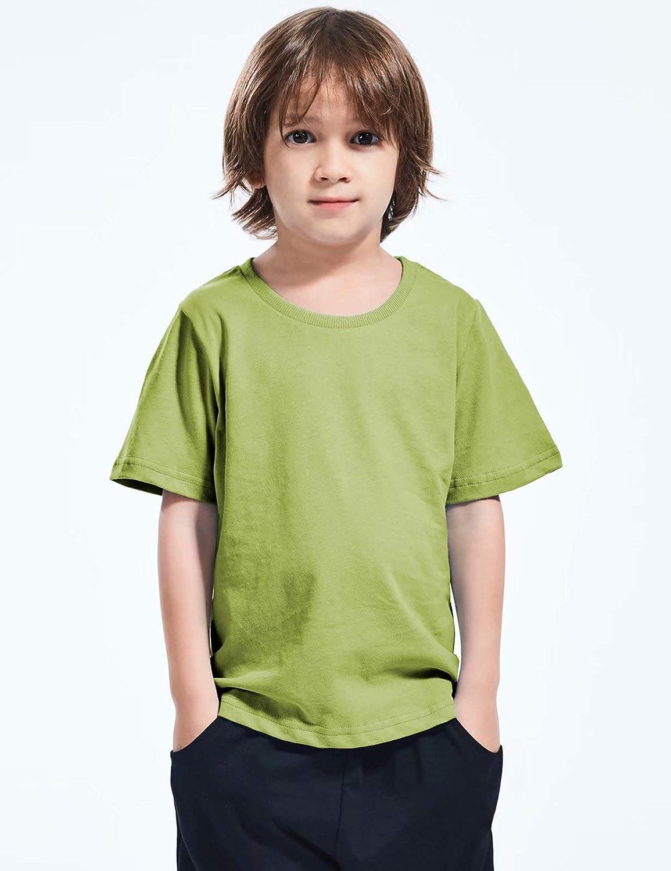MOMBEBE COSLAND Camiseta para Beb/é Ni/ños Ni/ñas 100/% Algod/ón