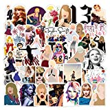 50PCS Singer Taylor Alison Swift Laptop & Water Bottle Stick