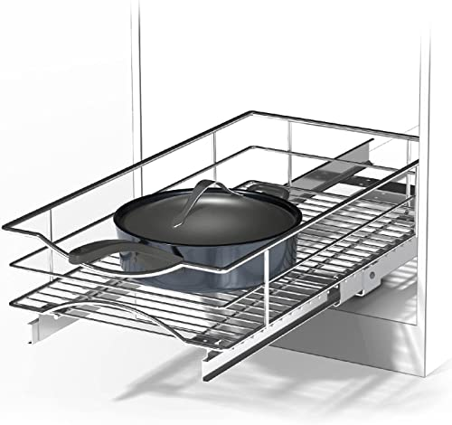 """wholesale Home Zone Living Pull Out Drawer online Cabinet Organizer, discount 14"""" W x 21"""" D online"""