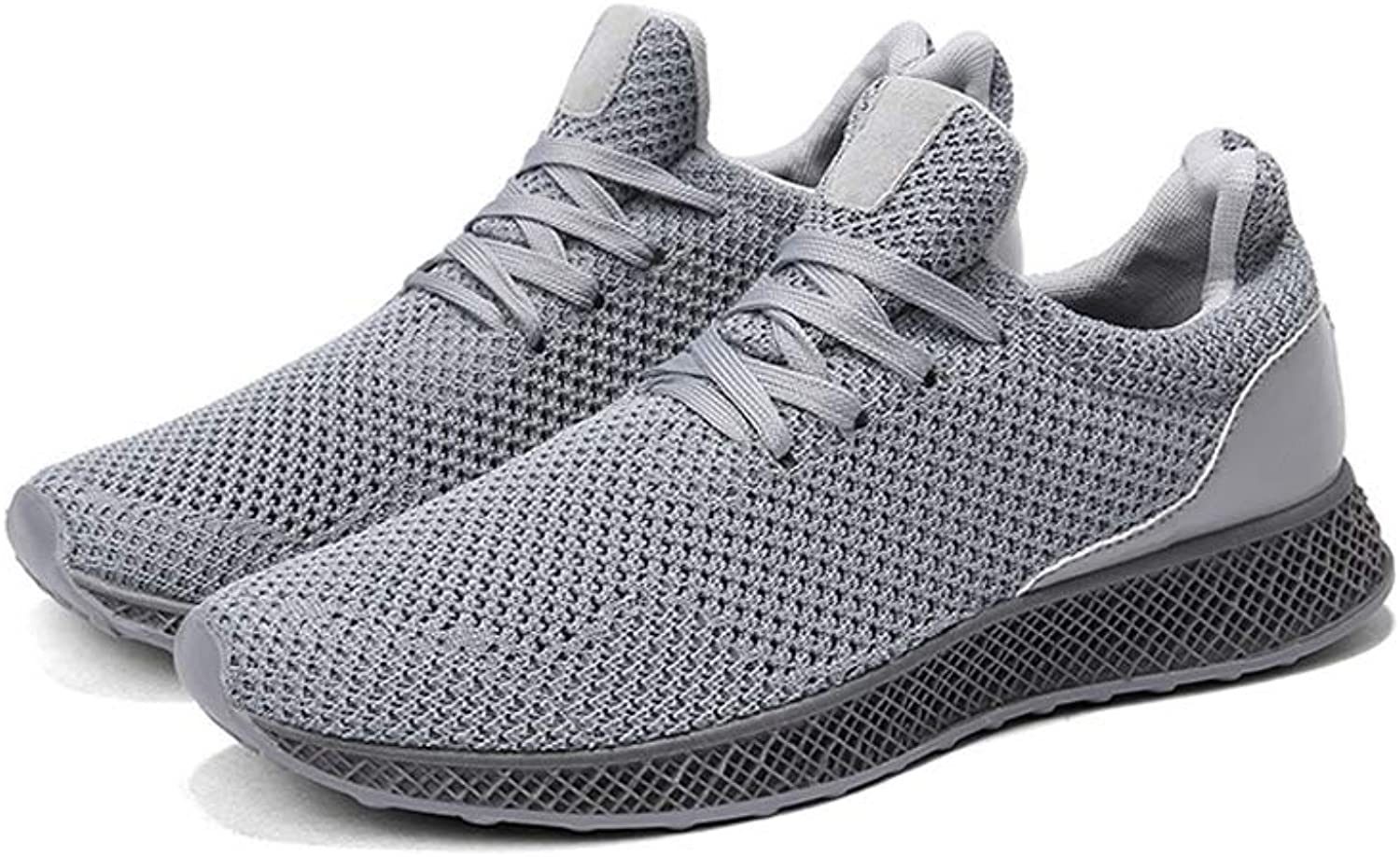 FUUI Mens Couple Flying Weaving Mesh shoes Outdoor Casual Comfortable Running Sports shoes Sneakers