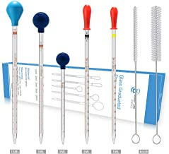 different pipette sizes
