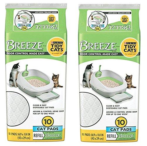 breeze litter box pads - 4