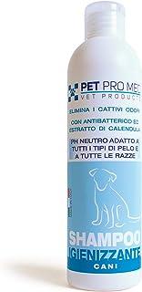 Virosac PetProMed - Shampoo Igienizzante ideale per eliminare i cattivi odori del manto del cane - 1 flacone da 250 ml con...