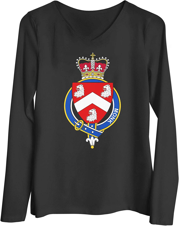 HARD EDGE DESIGN Women's English Garter Family Monk T-Shirt