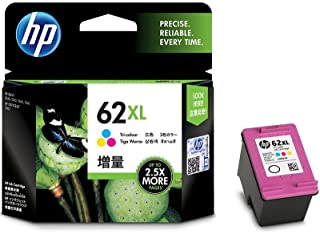 HP 62XL High Yield Original Tri-Color Ink Cartridge (C2P07AA)