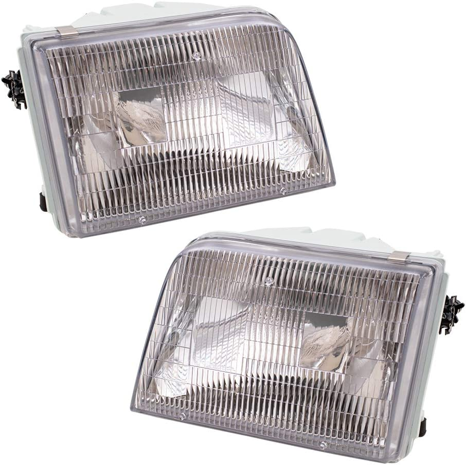 2021 Brock Replacement Driver and security Headlights Passenger wit Compatible