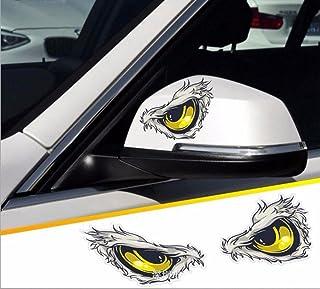 Réfléchissant yeux Decal Sticker Kit-Moto Cycle Casque