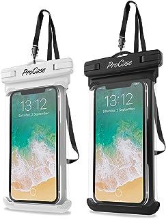 حافظة حماية هاتف مضادة للماء لهواتف ايفون اكس، اكس ار، 11، 11 برو ماكس، سامسونج نوت 8، 9، 10، 10 بلس، اس 20، هواوي بي 30، ...