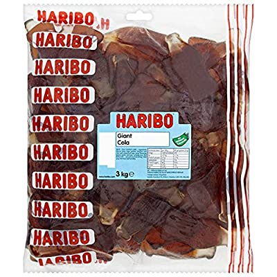 haribo giant cola bottles 3 kg (pack of 1) Haribo Giant Cola Bottles 3 Kg (Pack of 1) 61DKdcPy9iL