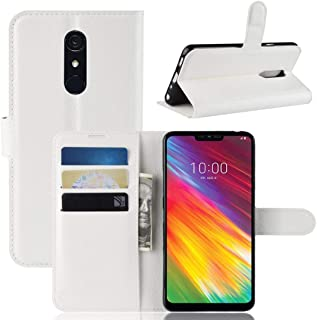 Mobile phone case Texture Horizontal Flip Leather PU + TPU Case for LG G7 Fit, with Wallet & Holder & Card Slots(Black) (C...