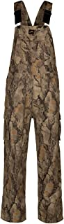 Natural Gear Uninsulated Camouflage Bib Overall for Men, Non-Insulated, Cotton Poly Blend Hunting Coveralls for Warm Weather