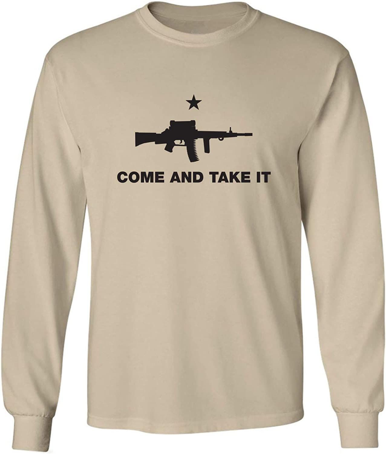 zerogravitee Come and Take It Adult Long Sleeve T-Shirt