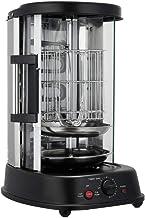 BITOWAT Machine à barbecue verticale rotative électrique, machine à barbecue portable domestique, sans fumée, grande capac...