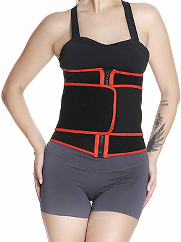 xoxing Waist Shapewear Belt Body Shaper Belly Band Tummy Control Girdle Wrap Postpartum Support Slimming Fitness S