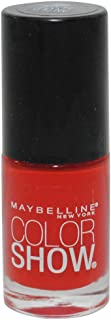 2 Pack- MAYBELLINE Color Show Nail Lacquer #135 an Old Flame
