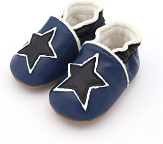 Biuonk Baby Shoes Toddler Shoes Soft Soles Suede Fleece Lining Baby Pre-Walkers