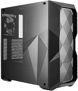 Cooler Master MasterBox TD500L- Caja Ordenador PC con Diseño Líneas Poligonales, Paneles Transparentes en Acrílico, Configuraciones Flujo de Aire Flexibles