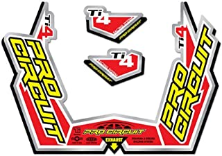 Pro Circuit DC09TI4GP Ti-4 Exhaust Decal Kit