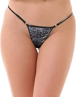 Lola Dola Women Ladies Girls Polyamide Gstring Panty Set of 1 (Multi, Free)