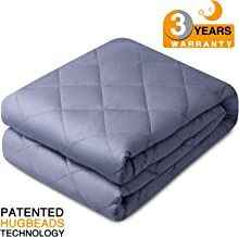 bedextra Weighted Heavy Blanket Adult Kids - 2019 Upgraded   17 lbs   60