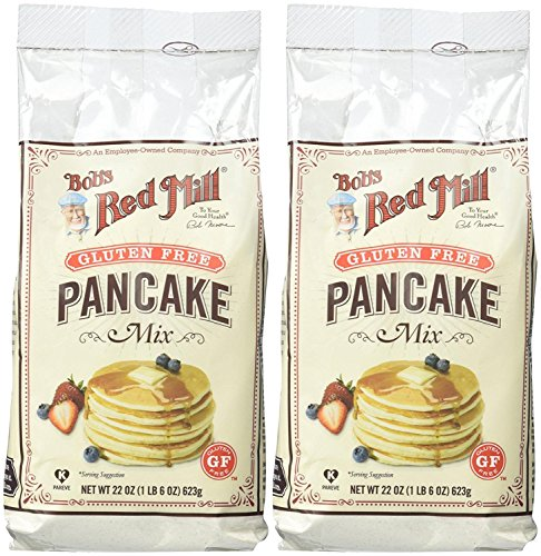 Bob's Red Mill Gluten Free Pancake Mix - 22 oz - 2 pk