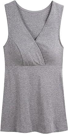 983f7758bde02 Topwhere Maternity Nursing Top, Women Basic Vest Sleep Tank Top