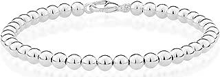Best sterling silver bead bracelet 4mm Reviews