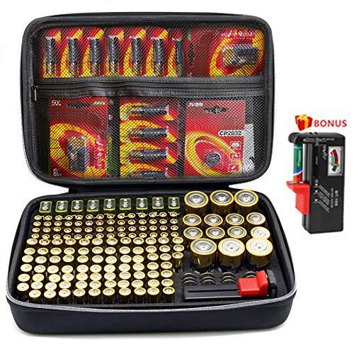 SURDAR Batterie Aufbewahrungsbox...