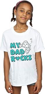 The Flintstones Girls Pebbles My Dad Rocks T-Shirt